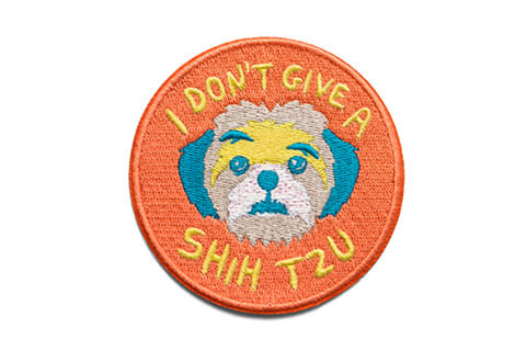 zeedog_cachorro_patch_bordado_dont_give_shih_tzu_active