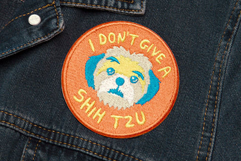 zeedog_cachorro_patch_bordado_dont_give_shih_tzu_hover