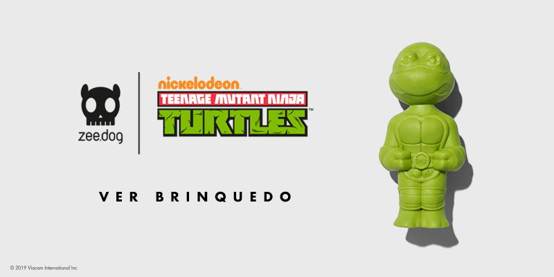 Brinquedo Tartarugas Ninja - Zee.Dog