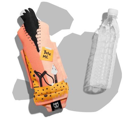 Bottle Buddies Tunga imagem do verso