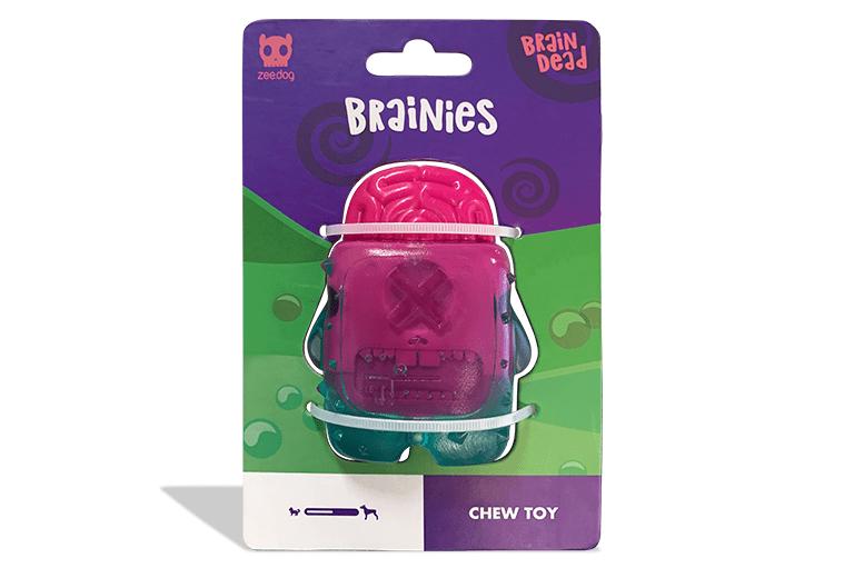 Brinquedo para Cachorros Brainies Brain Dead - Zee.Dog
