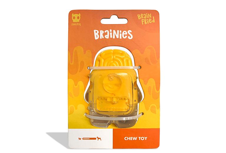 Brinquedo para Cachorros Brainies Brain Fried - Zee.Dog