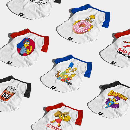 Camiseta para Cachorros Simpsons - Zee.Dog