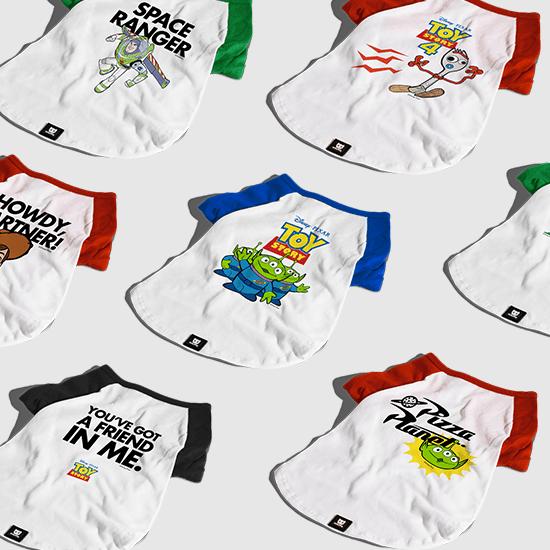 Camisetas para Cachorros Toy Story - Zee.Dog