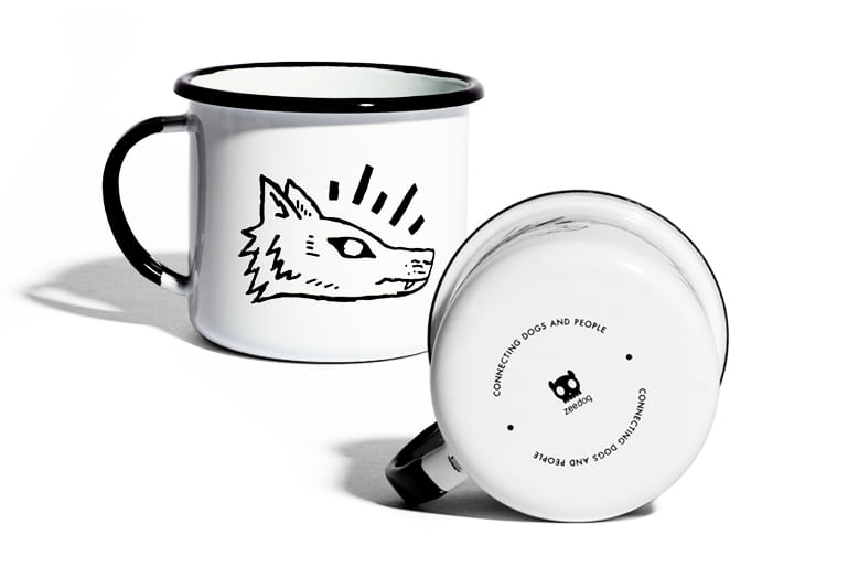 Caneca Stay Wild - Zee.Dog