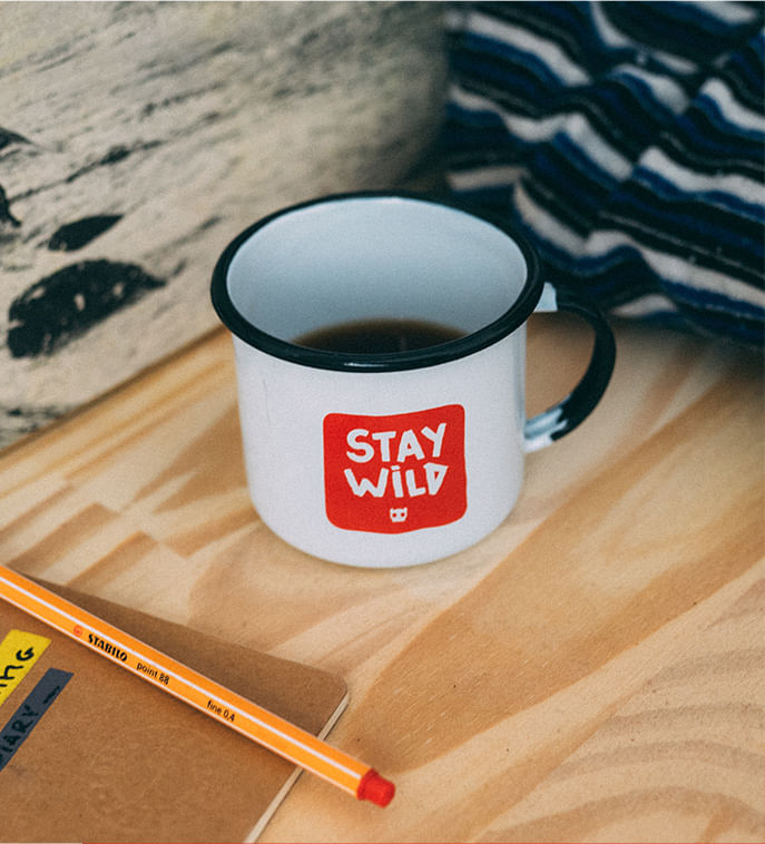 Foto Caneca Stay Wild - Zee.Dog