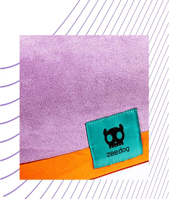 Material da Capa de Cama para Cachorros Gradients Wave