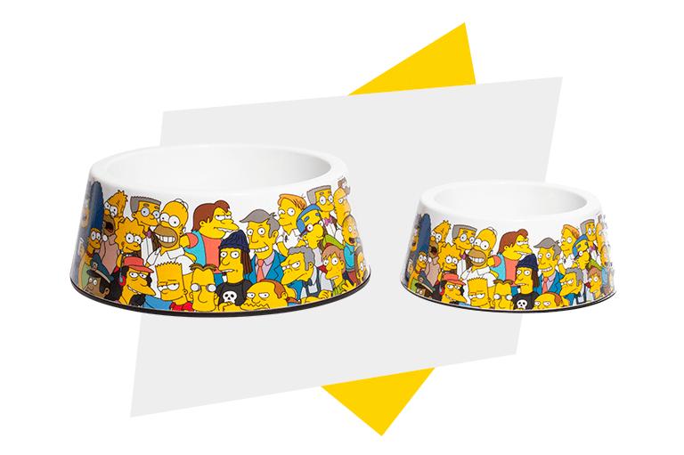 Material do Comedouro para Cachorros Springfield | The Simpsons - Zee.Dog