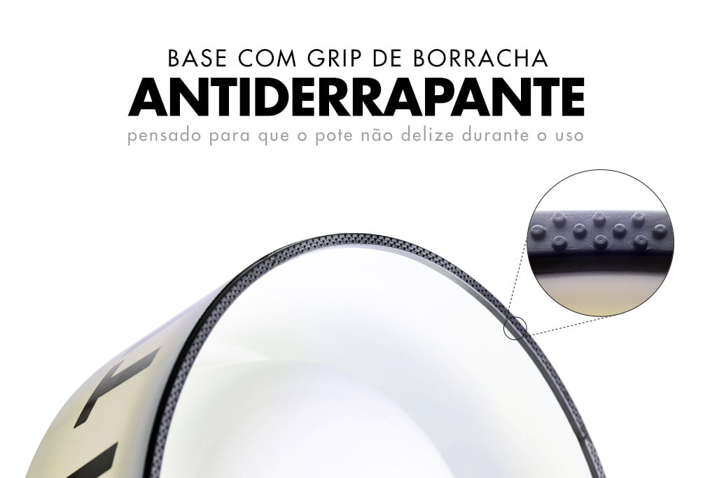 Borracha antiderrapante na base | Zee.Dog