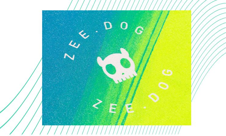 Estampa da Ecobag Gradients Tide Neutra - Zee.Dog