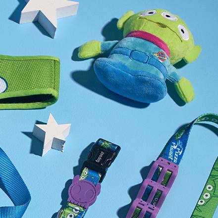 Gravata para Cachorros Toy Story Little Green Man - Zee.Dog