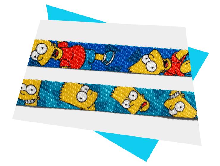 Material da Guia para Cachorros Bart Simpson | The Simpsons - Zee.Dog