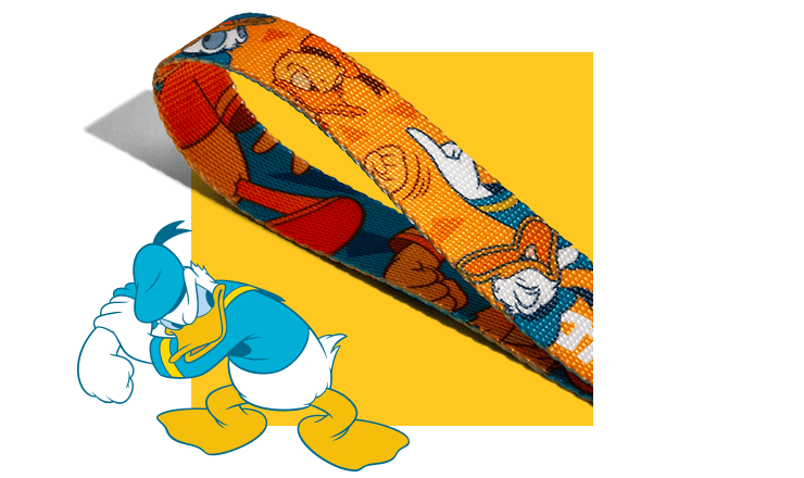 Guia para Cachorros Donald Duck Pato Donald - Zee.Dog