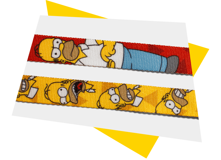 Material da Guia para Cachorros Homer Simpson | The Simpsons - Zee.Dog