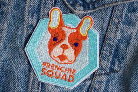 Patch-Bordado-Frenchie-Squad