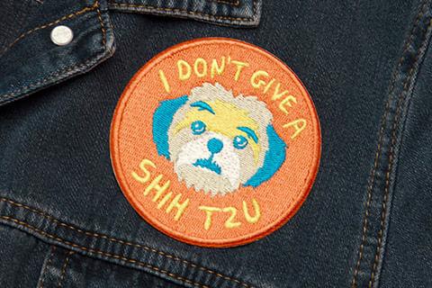 zeedog_cachorro_patch_bordado_dont_give_shih_tzu_hover