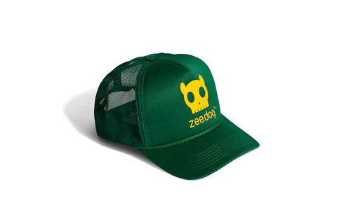 Boné Skull Brasil - ZeeDog 236af6c1f76
