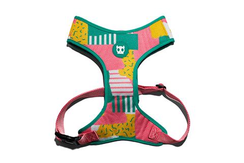 peitoral-para-cachorros-mesh-plus-salina-rosa-amarelo-turquesa-abstrato-zeedog-cachorro-pet-active