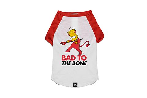 camisetas-para-cachorros-simpsons-bad-to-the-bone-zeedog-cachorro-pet-active