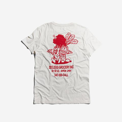 t-shirt-eat-your-veggies-branco-zeedog-human-hover