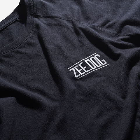 roupas-camisa-raglan-ml-ind-logo-preto-zeedog-human-hover