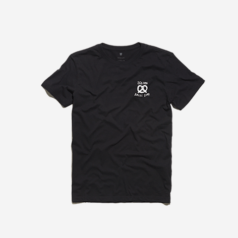camisa-bagel-shop-logo-preta-zeedog-human-active