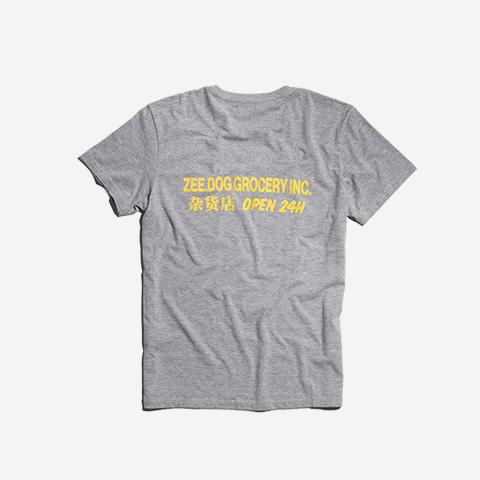 camisa-smiley-cinza-zeedog-human-hover