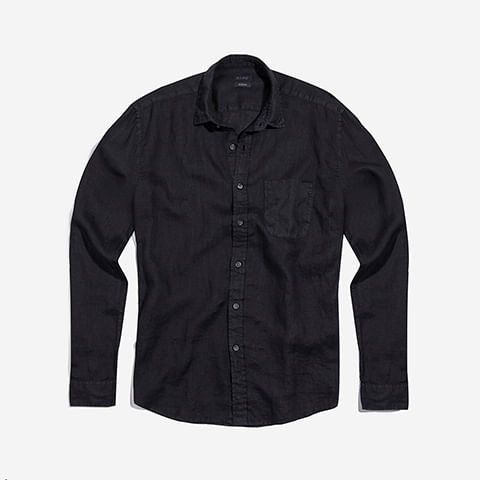 camisa-linho-preto-zeedog-human-active