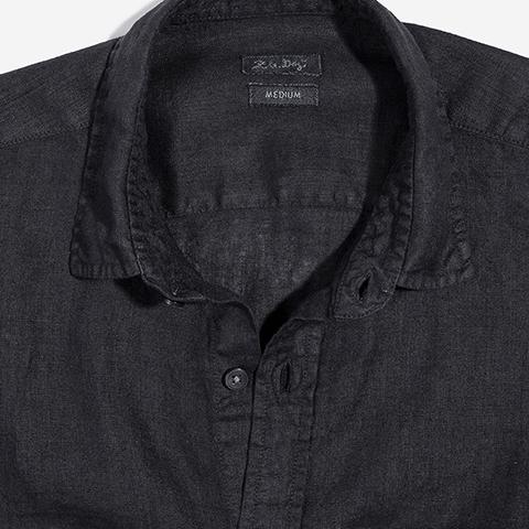 camisa-linho-preto-zeedog-human-hover