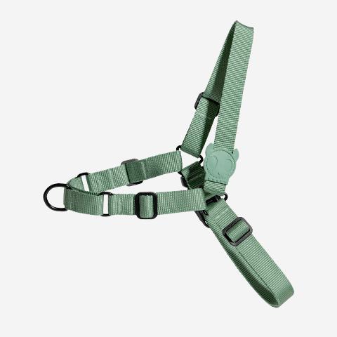 peitoral-soft-walk-para-cachorros-ruff-army-green-zeedog-cachorro-pet-active