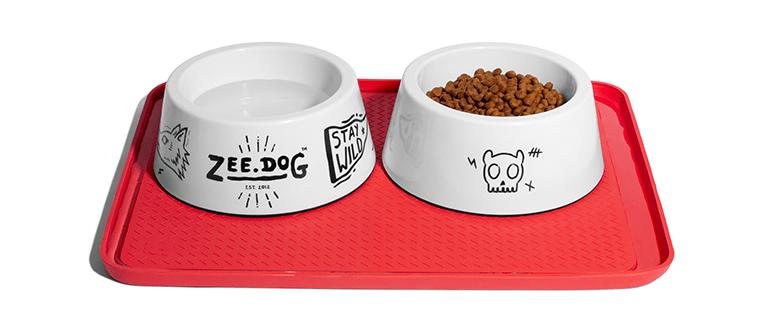 jogo americano para pote de comida zeedog