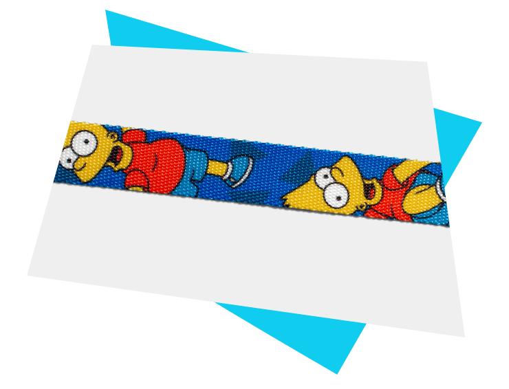 Material do Peitoral com Guia para Gatos Bart Simpson | The Simpsons - Zee.Dog