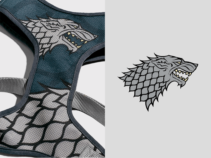 Peitoral Mesh Stark Game Of Thrones - Zee.Dog