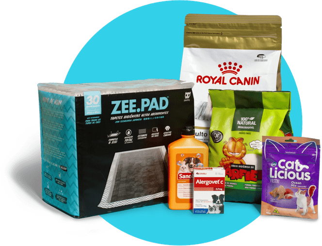 Imagem com os produtos que são vendidos no Zee.Now