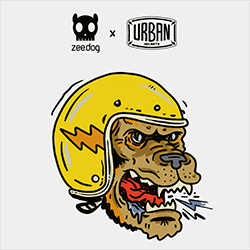 playlist zeedog urban helmets