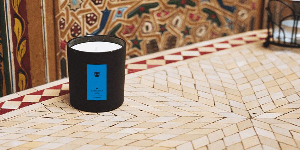 Vela Perfumada - Coleção Marrakesh - Zee.Dog