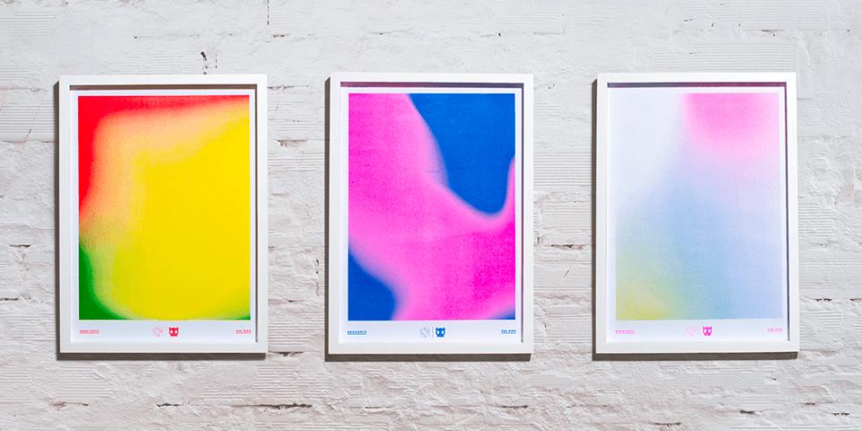 Posters - Coleção Gradients - Zee.Dog